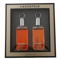 Lagerfeld Lagerfeld (Classic), Eau de Toilette Spray 60 ml + After Shave Splash 60 ml Geschenksets für Herren