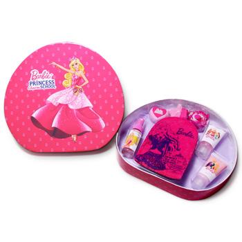 Barbie Barbie Princess Charm School - Beauty - Kindersets Schaumbad 30 ml + Lotion 30 ml + 2 x Badefizzer, Badekonfetti & Waschlappen