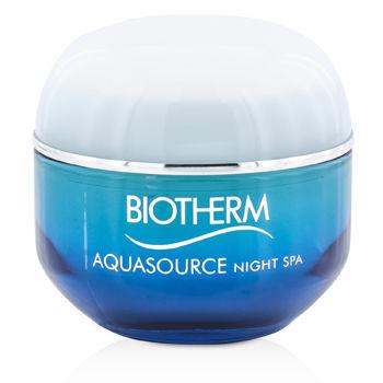 Biotherm Aquasource Night Spa - Trockene Haut - Gesichtsgel 50 ml