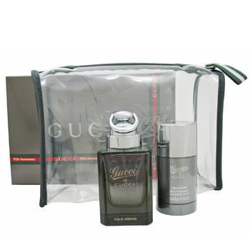 Gucci Gucci by Gucci Homme  - Geschenksets Eau de Toilette Spray 90 ml + Deo Stick 75 ml + Tasche