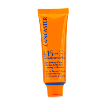 Lancaster Sun Beauty Care silky Touch Face Cream SPF 15 - Sonnencreme 50 ml