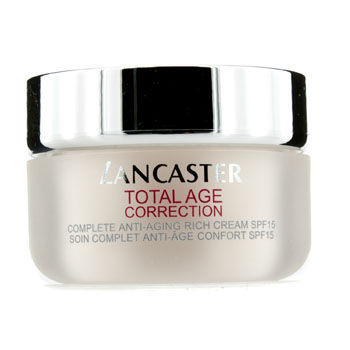 Lancaster Total Age Correction Global Anti-Aging Rich Day Cream SPF 15 - Gesichtscreme 50 ml