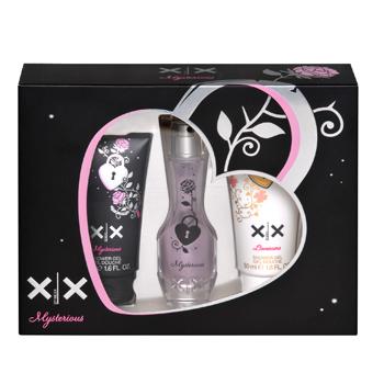 Mexx XX by Mexx Mysterious  - Geschenksets Eau de Toilette Spray 20 ml + Duschgel 50 ml + Duschgel Lovesome 50 ml