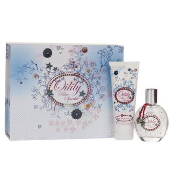 Oilily Parfum Oilily Blue Sparkle Extra: Box + Spiegel - Geschenksets Eau de Toilette 50 ml + Bad und Duschgel 75 ml