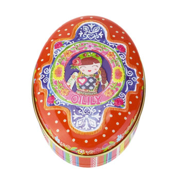 Oilily Parfum Oilily Soap Tin Red - Seife 75 g