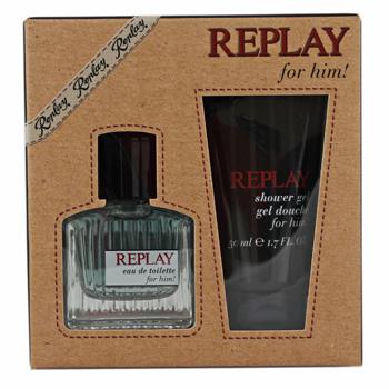Replay Replay Man for him - Geschenksets Eau de Toilette Spray 30 ml + Duschgel 50 ml