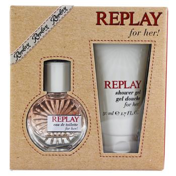 Replay Replay Woman  - Geschenksets Eau de Toilette Spray 20 ml + Duschgel 50 ml